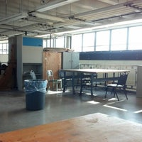 Photo taken at Engineering D-Wing Mezzanine by Mark E. on 2/4/2013