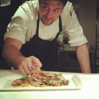 Photo taken at Boulud Sud by Gareth T. on 9/26/2012