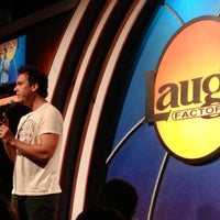 Photo taken at Laugh Factory by Kayla B. on 7/19/2013