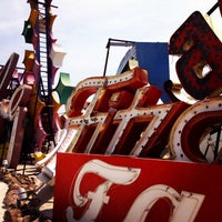 Photo taken at The Neon Museum by Kayla B. on 7/16/2013