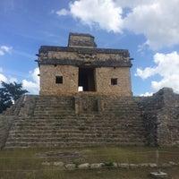 Photo taken at Zona Arqueológica de Dzibilchaltún by Tony R. on 12/31/2015