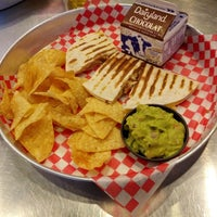Photo taken at Mucho Burrito Fresh Mexican Grill by Stephen F. on 4/13/2013