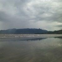 Photo taken at Praia Porto Novo by Liu S. on 1/14/2013