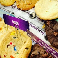Photo taken at Insomnia Cookies by Katie C. on 4/11/2015
