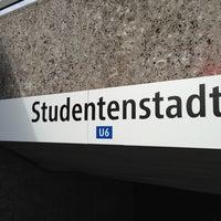 Photo taken at Studentenstadt Freimann (StuSta) by Daloha R. on 8/25/2013