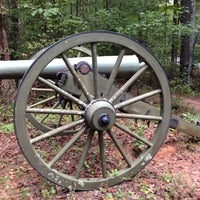 Photo taken at Kennesaw Mountain National Battlefield Park by Rebecca H. on 9/29/2013