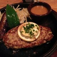 Photo taken at 山本のハンバーグ 恵比寿本店 by Satoshi H. on 1/28/2013