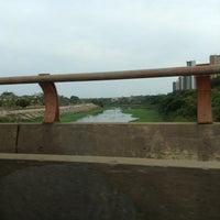 Photo taken at Ponte Juscelino Kubstichek by Felipe F. on 12/24/2012