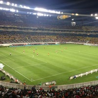 Photo taken at Estadio Jalisco by Paulina L. on 4/7/2013