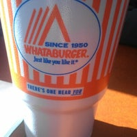 Photo taken at Whataburger by Sharon A. on 1/6/2013
