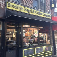 Photo taken at Brooklyn Bagel & Coffee Co. by Johann R. on 11/17/2012