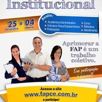 Photo taken at Faculdade Paraíso do Ceará - FAP by Josmadelmo D. on 2/26/2013