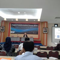 Photo taken at Gedung Teknologi 2 Puspitek Serpong by Juwartina I. on 2/25/2014