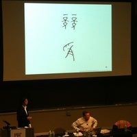 Photo taken at MIT 10-250 (Huntington Hall) by Zi G. on 10/25/2012