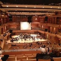 Photo taken at La Maison Symphonique de Montréal by Benoit S. on 2/7/2013