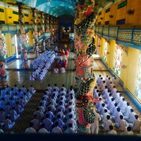 Photo taken at Cao Dai Holy See by Erica C. on 2/10/2015
