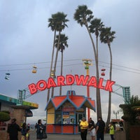 Photo taken at Santa Cruz Beach Boardwalk by Erica C. on 4/1/2013