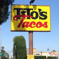 Photo taken at Tito's Tacos by Jose R. on 6/20/2013