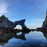 Photo taken at Nusa Penida by Bagus E. on 4/15/2014