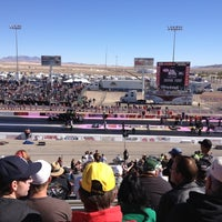 Photo taken at The Strip at Las Vegas Motor Speedway by Brittney on 10/26/2012