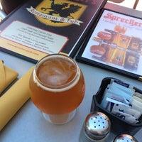 Photo taken at Sprecher's Restaurant & Pub by Jim R. on 7/12/2013