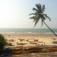 Photo taken at Ashwem Beach by Antonio I. on 1/8/2013