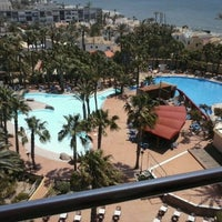 Photo taken at Hotel Playasol by Oscar B. on 5/29/2013