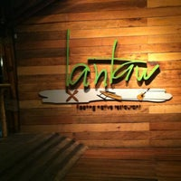 Photo taken at Lantaw Native Floating Restaurant by Samantha I. on 11/27/2012