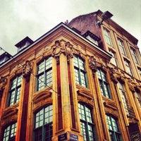 Photo taken at Grand'Place – Place du Général de Gaulle by Moonsieur P. on 12/9/2012