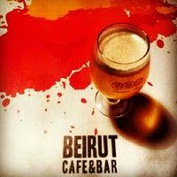 Photo taken at Beirut Cafe & Bar by Bora K. on 10/10/2012