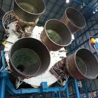 Photo taken at Apollo/Saturn V Center by Elis S. on 1/4/2013