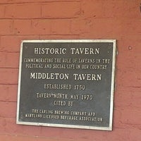 Photo taken at Middleton Tavern by Darrell W. on 5/25/2013