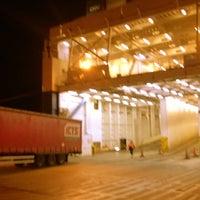Photo taken at DFDS Seaways terminal by Bob D. on 4/3/2014