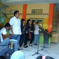Photo taken at SMA Negeri 1 Puri by Fariza F. on 12/18/2012