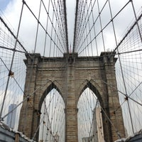 Photo taken at Brooklyn Bridge by Eliza C. on 6/27/2013