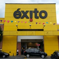 Photo taken at Éxito by Gabriel P. on 3/10/2013