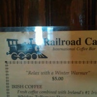 Photo taken at Railroad Café by Anthony S. on 3/18/2012
