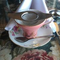 Photo taken at Elizabeth & Alexander's English  Tea Room by Errin P. on 7/1/2013