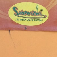 Photo taken at Sabrositos by Gabriel S. on 4/12/2013