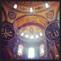 5/19/2013 tarihinde Tuğba Ö.ziyaretçi tarafından Ayasofya'de çekilen fotoğraf