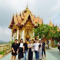Photo taken at Wat Tham Kao Noi by Nantawan S. on 5/1/2017