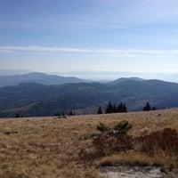 Photo taken at Vista House Mt Spokane Summit by Alex R. on 10/15/2013