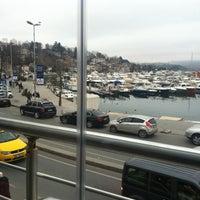 Photo taken at İstinye Marina by Mehmet K. on 2/26/2013