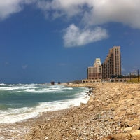 Photo taken at Leonardo Beach by Lapteva A. on 4/9/2013