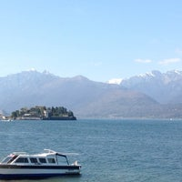 Photo taken at Lungolago di Stresa by 🌿 Galina G. on 4/14/2013
