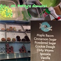Photo taken at Little Donut Shop by Danielle @. on 3/12/2014