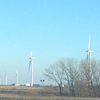 Photo taken at Windmill farm by Amanda G. on 1/26/2013
