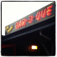 Photo taken at Dinosaur Bar-B-Que by Adam S. on 5/20/2013