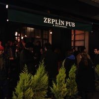Photo taken at Zeplin Pub & Delicatessen by Elif E. on 3/23/2013