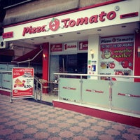 Photo taken at Pizza Tomato by Anıl A. on 3/11/2014
